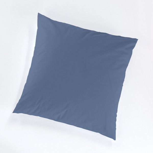 Kissenbezug Jersey blau