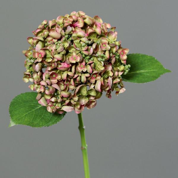 Kunstpflanze Hortensie mauve