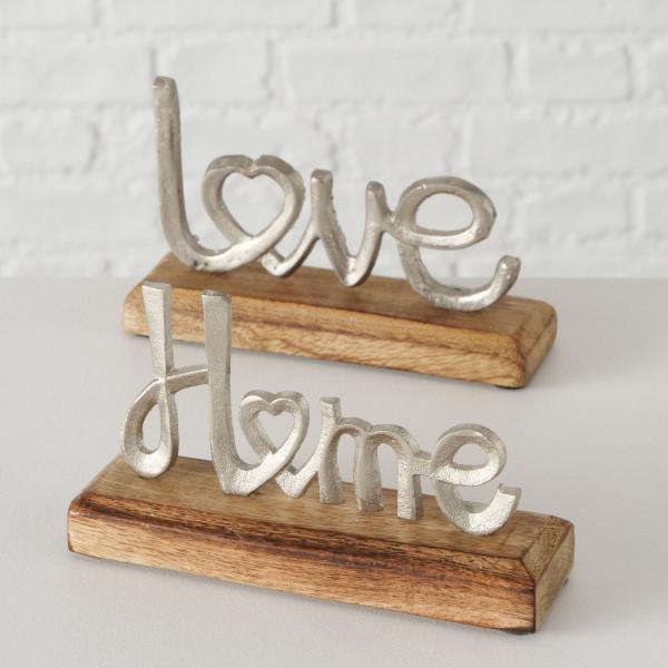 Aufsteller LOVE/HOME