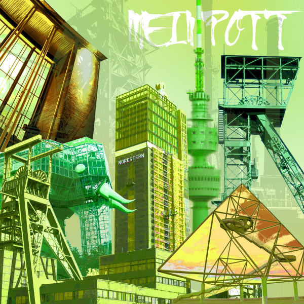 Kunstdruck Ruhrpott Collage