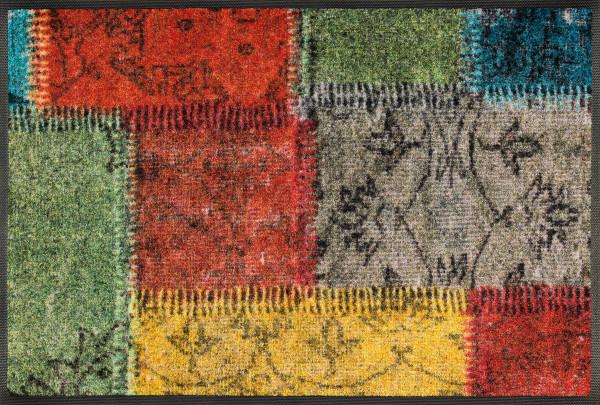 Fußmatte Vintage Patches
