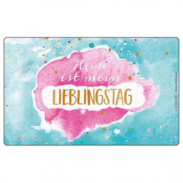 Brettchen - Lieblingstag (LB 23,5x14,5 cm)