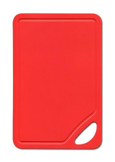Schneidunterlage rot (LBH 26,2x17x0,2 cm)