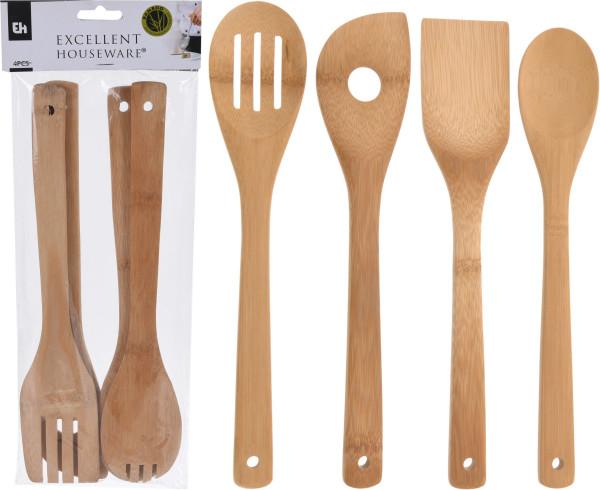 Kochlöffel-Set Bambus