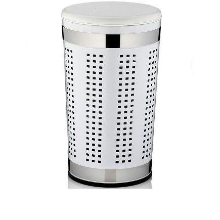 Wäschekorb SEVILLA weiß (DH 35x60,5 cm)