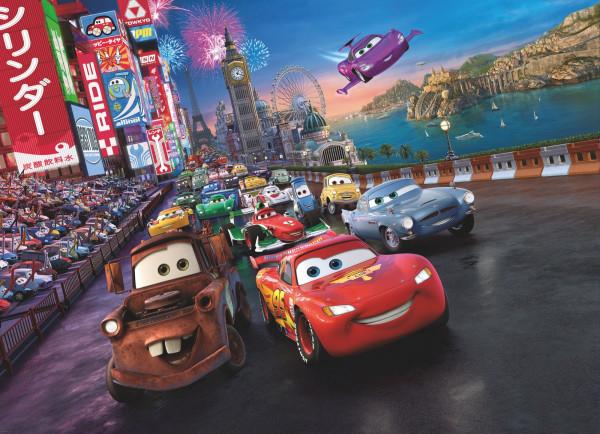 Fototapete Cars Race (BH 254x184 cm)