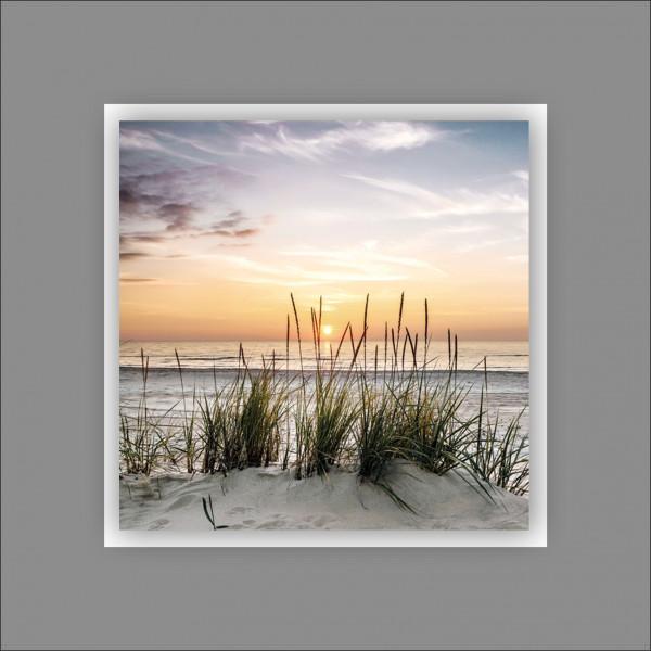 Alu-Art Beach IV (LB 50x50 cm)