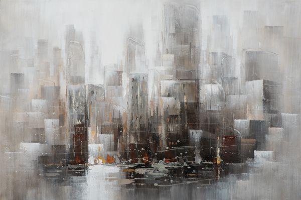 Bild Skyline (LB 100x150 cm)