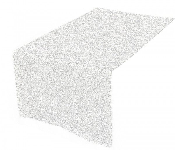 Tischläufer Spider geschnitten (LB 45x145 cm)