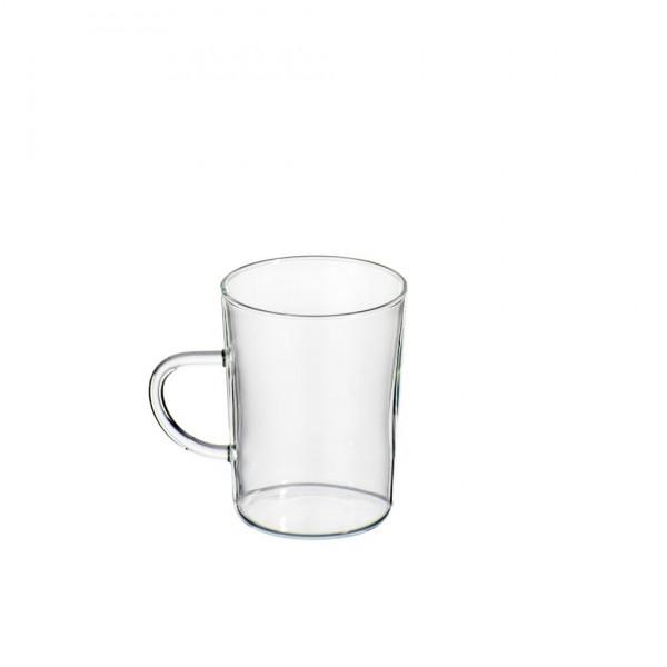 Teeglas mit Henkel - einzeln