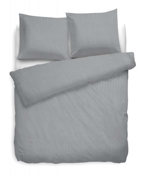 Bettwäsche Uni Stripe