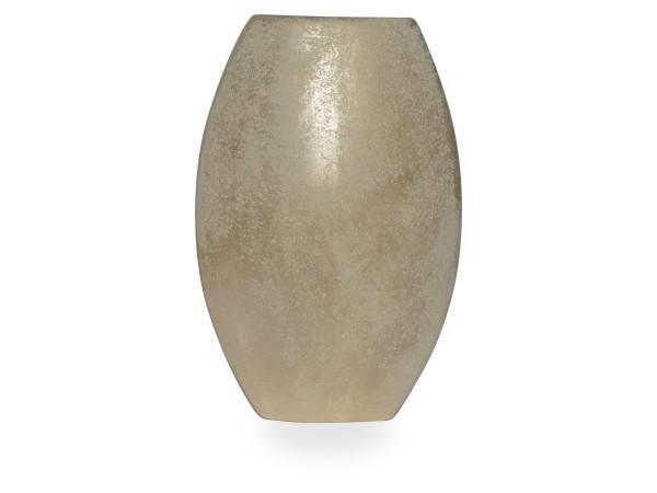 Vase silber Perl