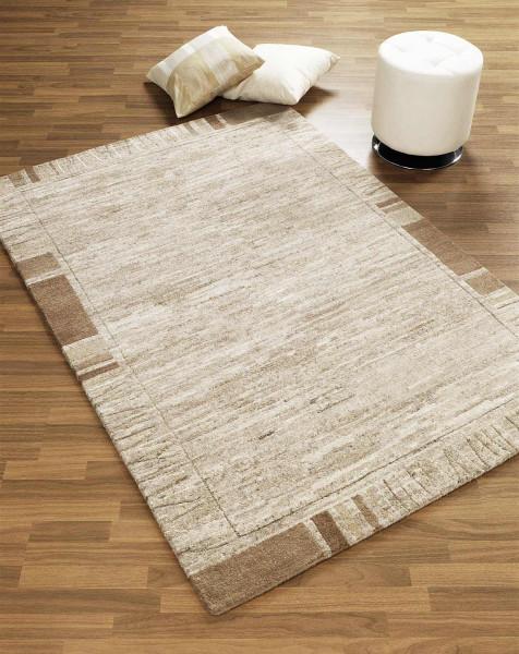 Nepal-Teppich LAMAR beige