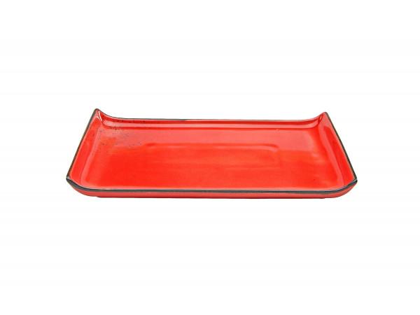 BBQ-Platte rot
