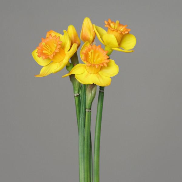 Kunstblume Narzissenbündel