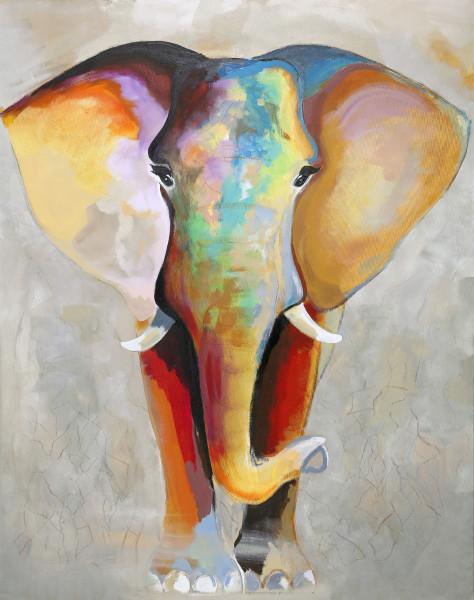 Bild Elephant bright (BH 118x150 cm)