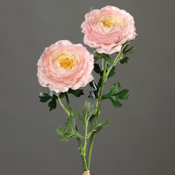 Kunstpflanze Ranunkel rose
