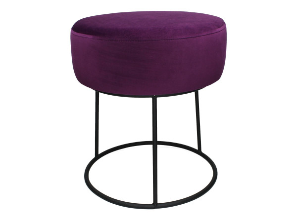 Hocker Pouf purple