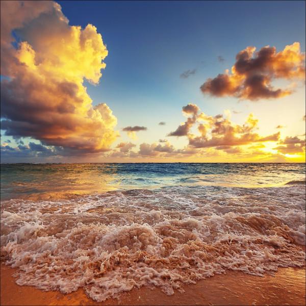 Alubild BRIGHT SEA & HORIZON