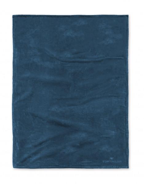 Wohndecke TOM TAILOR blau (BL 150x200 cm)