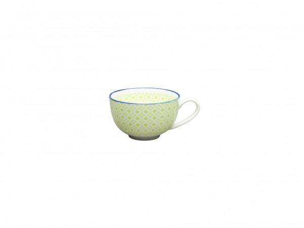 Kaffee Obere Mediterran grün
