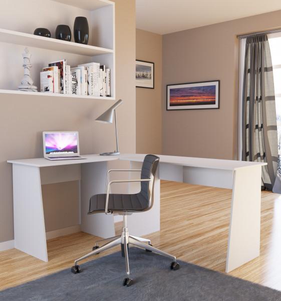 Eck-Schreibtisch Masola