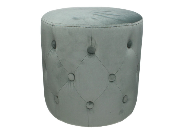Hocker Pouf grau