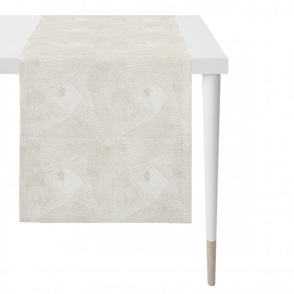 Tischläufer creme (BL 43x135 cm)