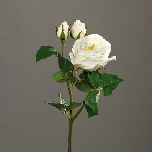 Kunstblume Rose creme