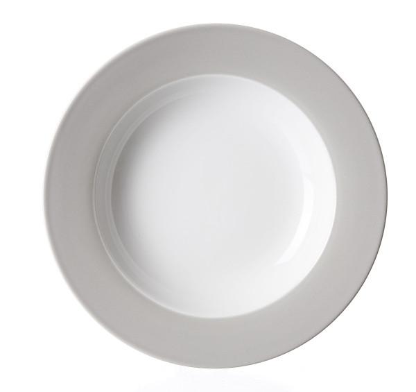 Suppenteller DOPPIO grau
