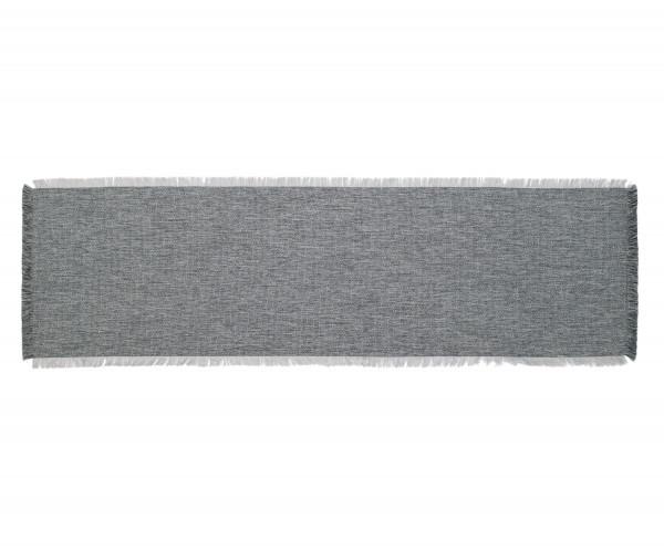 Tischläufer DAWSON silber (BL 40x140 cm)