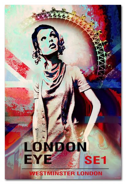 Keilrahmenbild LONDON