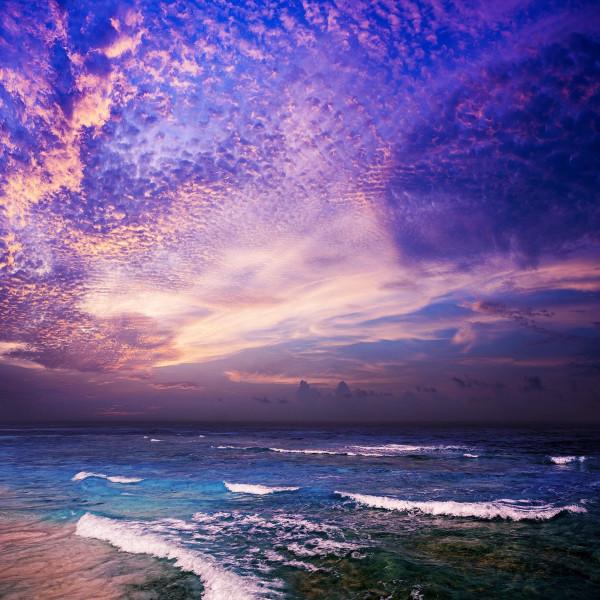 Alubild DARK SEA & HORIZON