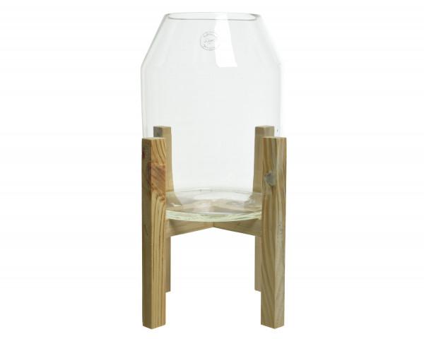 Vase Holzfuss UMEA