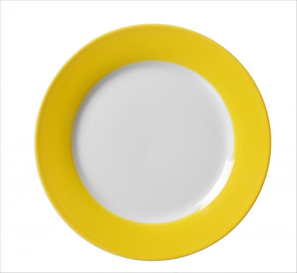 Dessertteller Doppio s-gelb