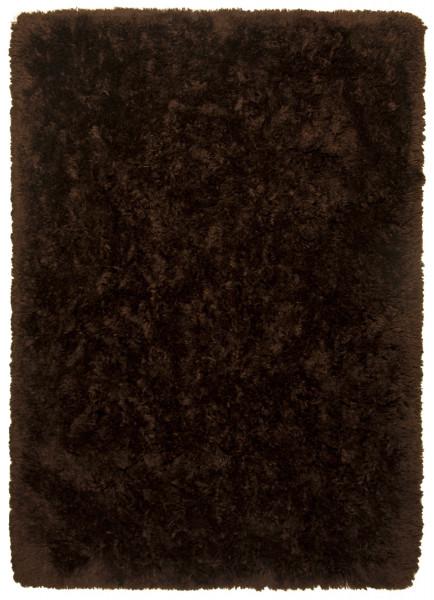 Teppich FLOCATIC braun