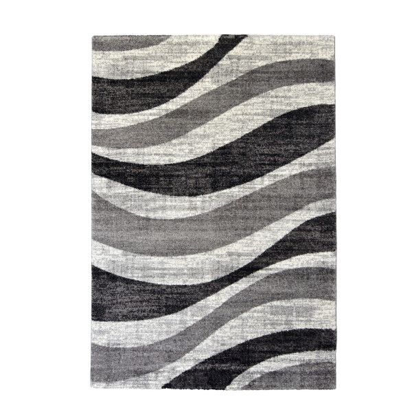 Webteppich WAVE GREY (BL 80x150 cm)