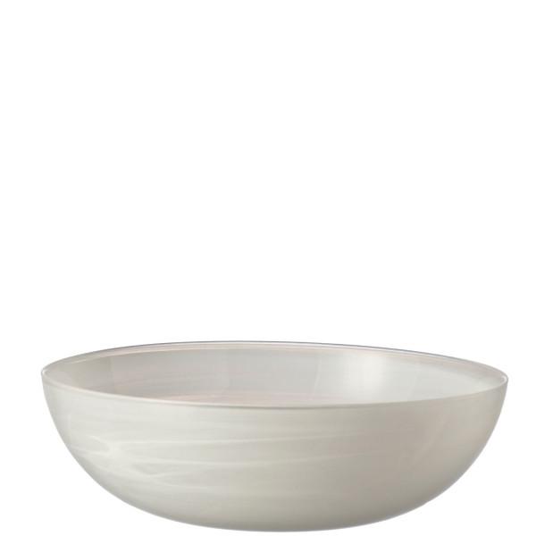 Schale Alabastro weiß flach (D 28 cm)
