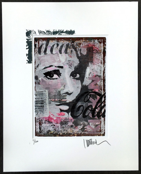 Kunstdruck Face2