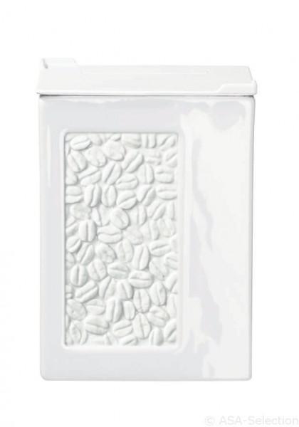 Vorratsdose Relief Kaffee (BHT 9x12x9 cm)