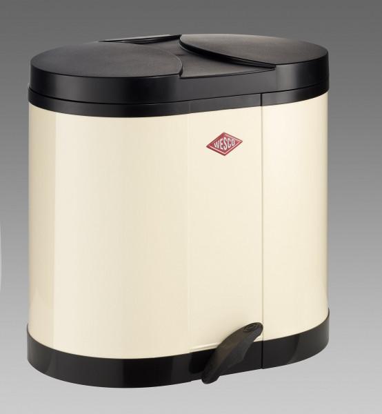 Abfalleimer Öko-Sammler mandel beige 30l WESCO (BHT 45x43x36 cm)