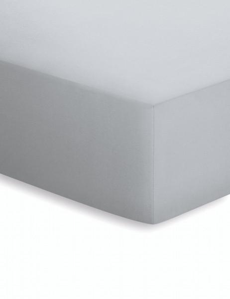 Spannbetttuch ELASTHAN platin (BL 100x200 cm)