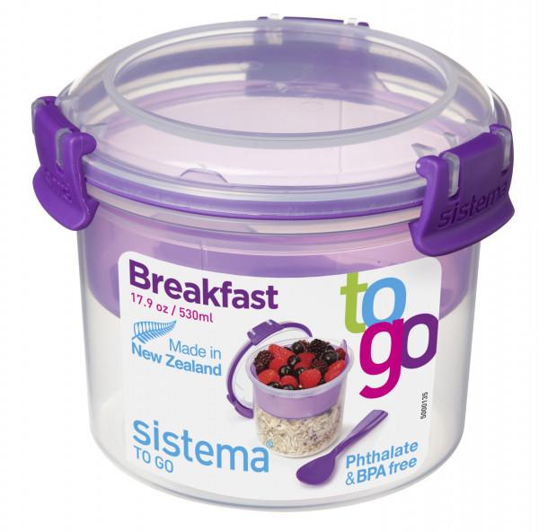 Breakfast To Go (BHT 11,5x9,5x11,5 cm)