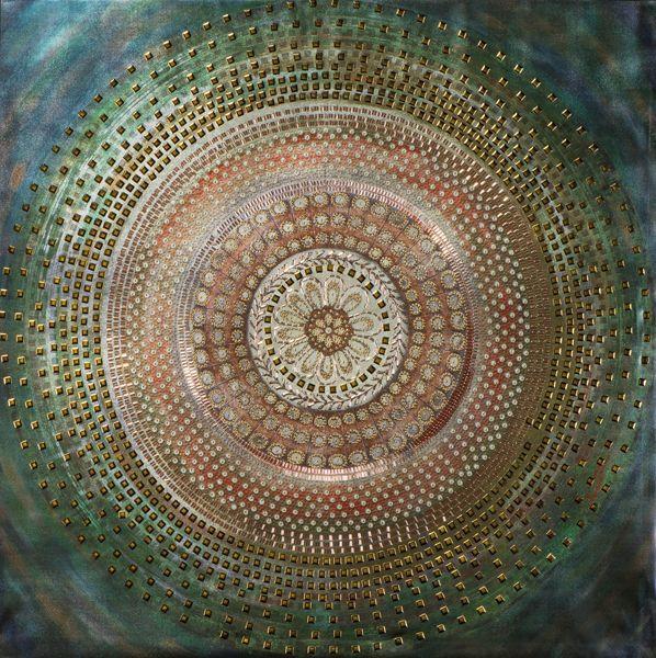 Bild Pailetten Mandala
