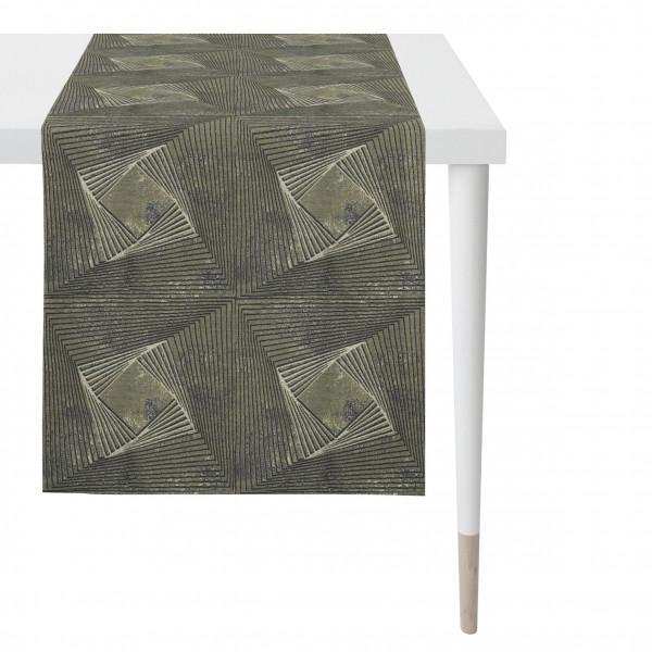 Tischläufer graphit (BL 43x135 cm)