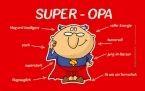 Brettchen - Super Opa (LB 23,5x14,5 cm)