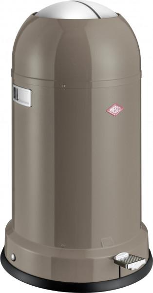 Abfalleimer Kickmaster grey Classic Line Soft WESCO 183631-5 (DH 41x69 cm)