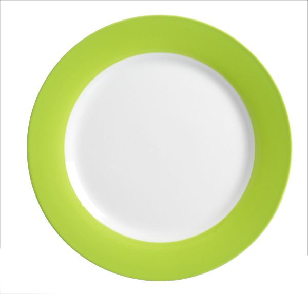 Speiseteller DOPPIO grün