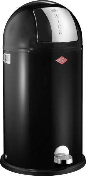 Abfalleimer Kickboy schwarz 40l WESCO (DH 39x75,5 cm)