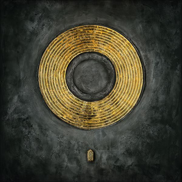 GOLD & BLACK (LB 100x100 cm)